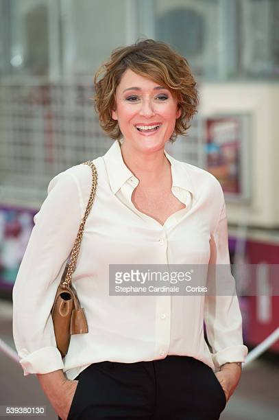 Host Daniela Lumbroso attends the 30th Cabourg Film Festival: Day Three, on June 10, 2016 in Cabourg, France.