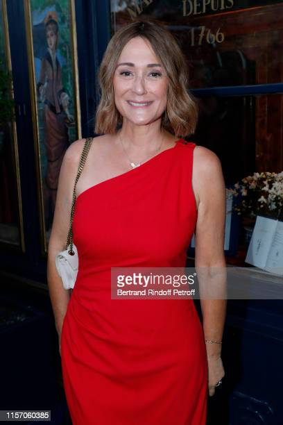 Host Daniela Lumbroso attends the Laperouse Mask Ball on the occasion of the inauguration evening of the Laperouse Restaurant ; as part of Paris...