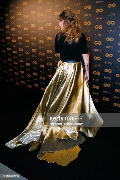 Host Daphne Burki dressed in Ralph Lauren attends the GQ Men of the Year Awards 2016 Photocall at Musee d'Orsay on November 23 2016 in Paris France