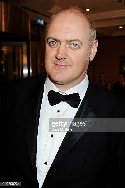 Host Dara O'Briain attends the GAME British Academy Video Game Awards 2011 at the London Hilton on March 16 2011 in London England