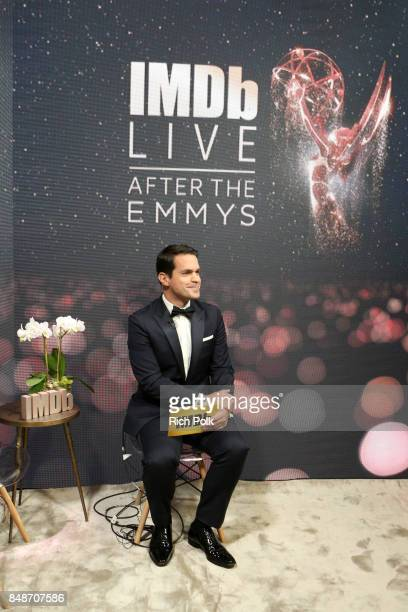 Host Dave Karger attends IMDb LIVE After the Emmys at Microsoft Theater on September 17 2017 in Los Angeles California