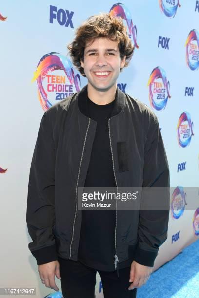 Host David Dobrik attends FOX's Teen Choice Awards 2019 on August 11 2019 in Hermosa Beach California