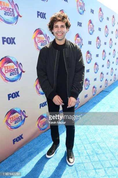 Host David Dobrik attends FOX's Teen Choice Awards 2019 on August 11, 2019 in Hermosa Beach, California.