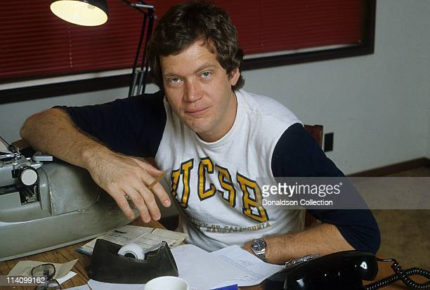 Host David Letterman poses for a portrait in c1983 in Los Angeles California