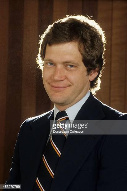 Host David Letterman poses for a portrait in circa1983 in Los Angeles California