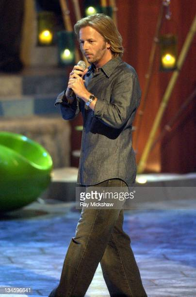 Host David Spade during 2003 Teen Choice Awards Show at Universal Amphitheatre in Universal City California United States