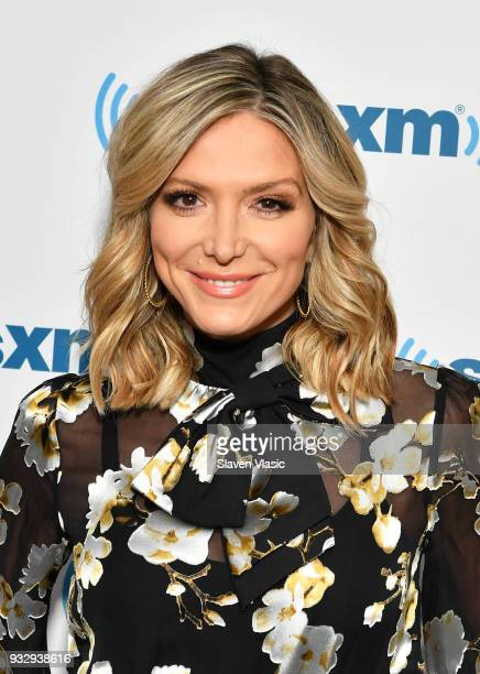 TV host Debbie Matenopoulos visits SiriusXM Studios on March 16 2018 in New York City