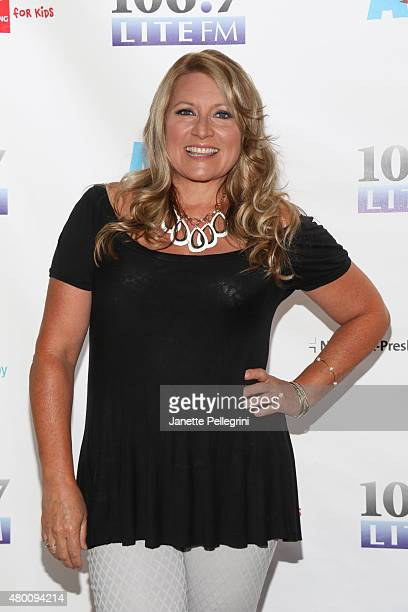 Host Delilah attends 1067 Lite FM's Broadway In Bryant Park 2015 in Bryant Park on July 9 2015 in New York City