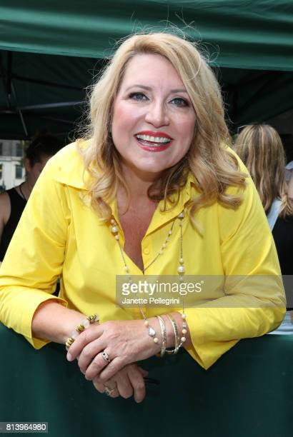 Host Delilah attends 1067 Lite FM's Broadway In Bryant Park 2017 at Bryant Park on July 13 2017 in New York City