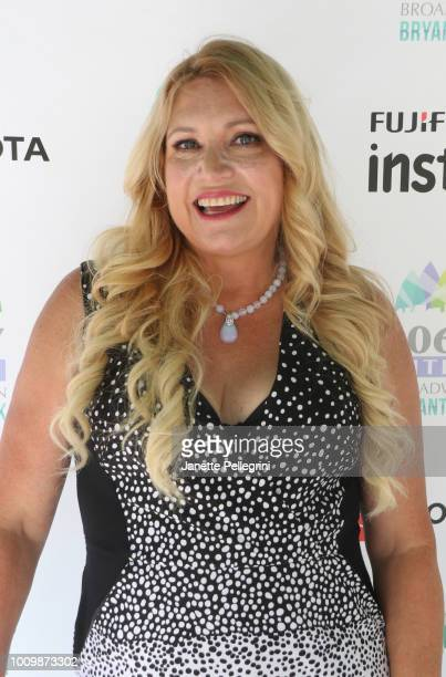 Host Delilah attends 1067 LITE FM's Broadway in Bryant Park on August 2 2018 in New York City