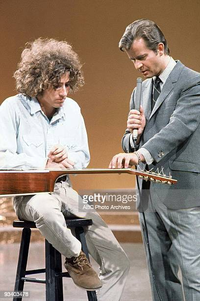 BANDSTAND 6/21/1969 Host Dick Clark interviews Tim Buckley who performs 'Strange Feelin' ' on American Bandstand