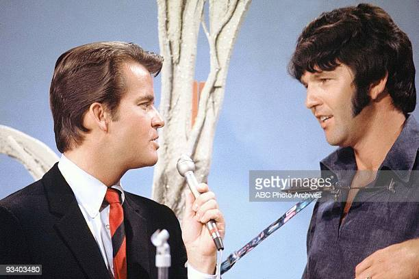 BANDSTAND 6/14/1969 Host Dick Clark interviews Tony Joe White on American Bandstand