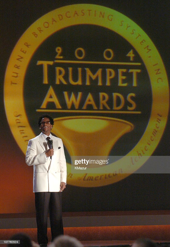Host D.L. Hughley during The 2004 Trumpet Awards - Show at Omni Hotel in Atlanta, Georgia, United States.