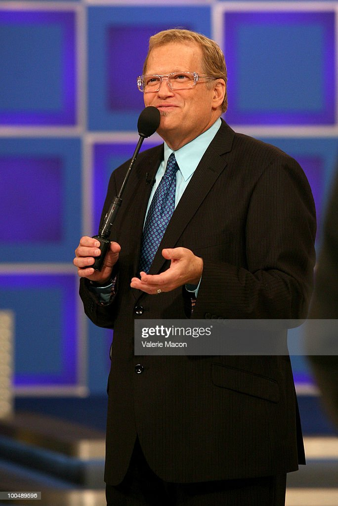 Host Drew Carey attends 'The Price Is Right' Daytime Emmys-themed episode taping at CBS Studios on May 24, 2010 in Los Angeles, California.