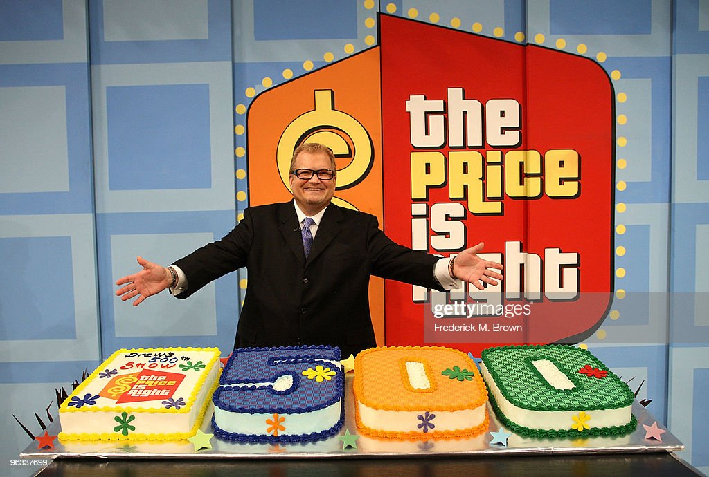 """CBS' """"The Price Is Right"""" Drew Carey's 500th Show"""