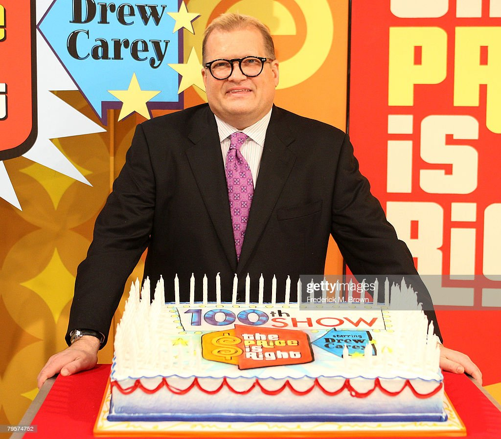 Drew Carey Host's His 100th Episode Of The Price Is Right