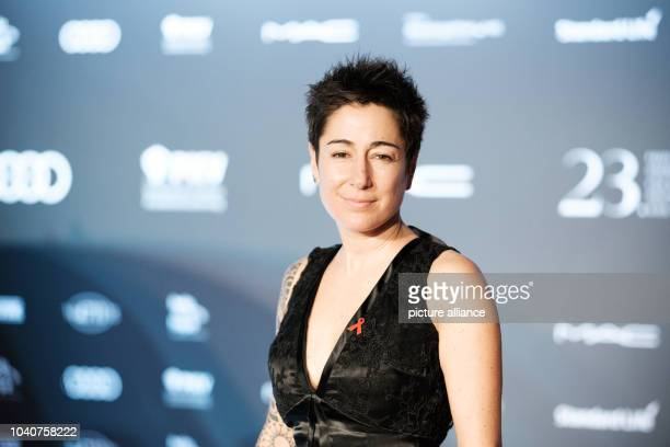 TV host Dunja Hayali arrives at the 23rd Opera Gala for the German Aids Foundation in Berlin Germany 5 November 2016 PHOTO ROBERT SCHLESINGER/dpa |...