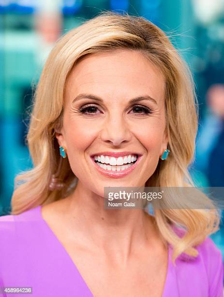 Host Elisabeth Hasselbeck returns to FOX and Friends at FOX Studios on November 14 2014 in New York City