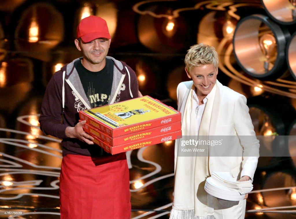 86th Annual Academy Awards - Show : News Photo