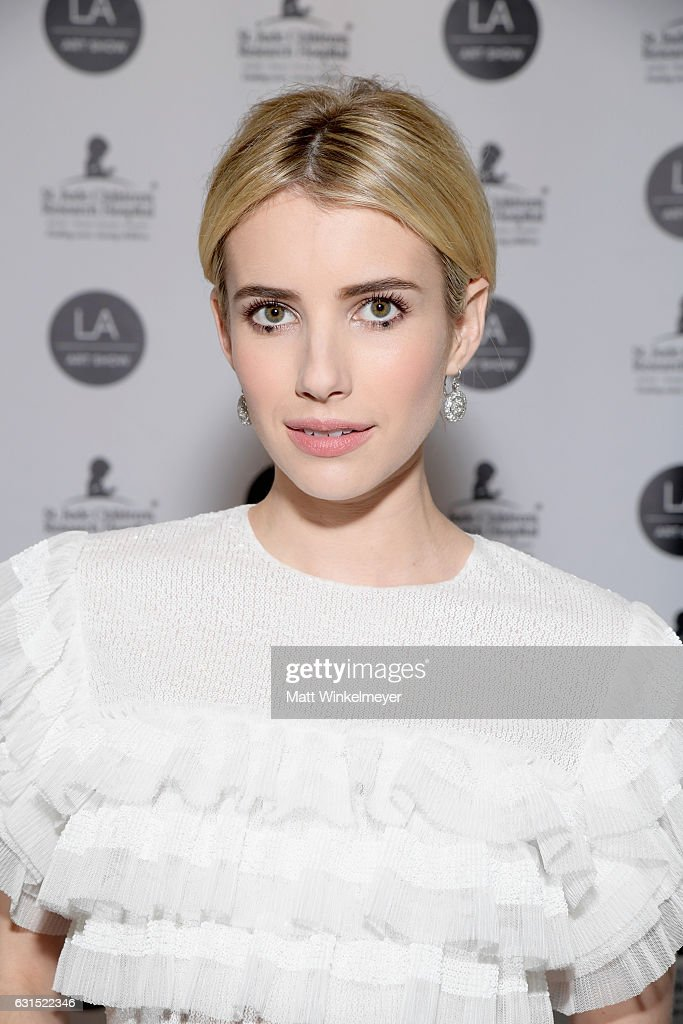 LA Art Show 2017 - Opening Night Premiere Hosted By Emma Roberts Benefiting St. Jude Children's Research Hospital