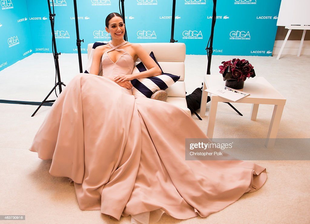 17th Costume Designers Guild Awards With Presenting Sponsor Lacoste - Green Room : News Photo