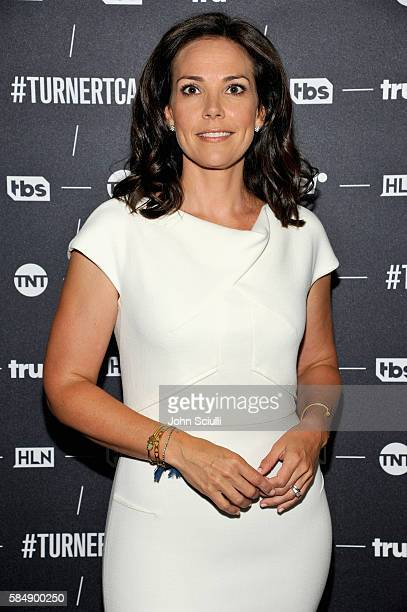 Host Erica Hill of HLN attends the TCA Turner Summer Press Tour 2016 Presentation at The Beverly Hilton Hotel on July 31, 2016 in Beverly Hills,...