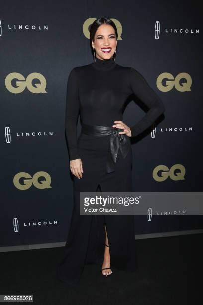 Host Gaby Espino attends the GQ Mexico Men of The Year Awards 2017 on October 26 2017 in Mexico City Mexico