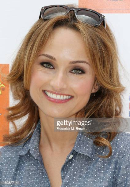 Host Giada De Laurentiis attends the Seventh Annual Kidstock Music and Art Festival to benefit One Voice Scholars at the Greystone Mansion on June 2...
