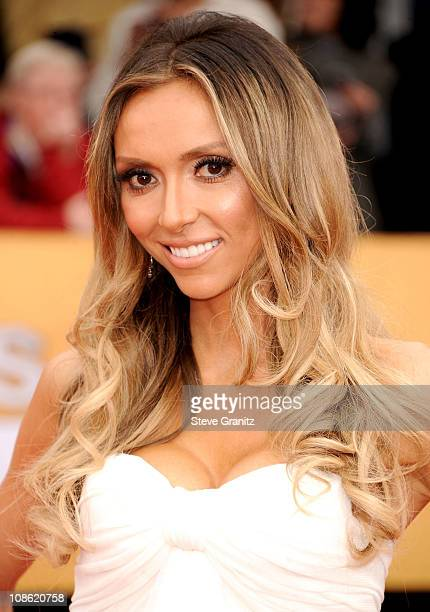 TV host Giuliana Rancic arrives at the 62nd Annual Primetime Emmy Awards held at the Nokia Theatre LA Live on August 29 2010 in Los Angeles California