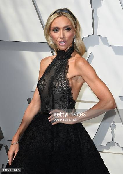TV host Giuliana Rancic arrives for the 91st Annual Academy