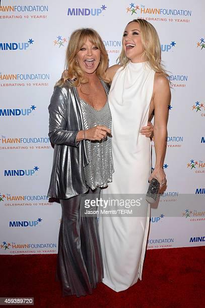 Host Goldie Hawn and host committee member Kate Hudson attend Goldie Hawn's inaugural 'Love In For Kids' benefiting the Hawn Foundation's MindUp...