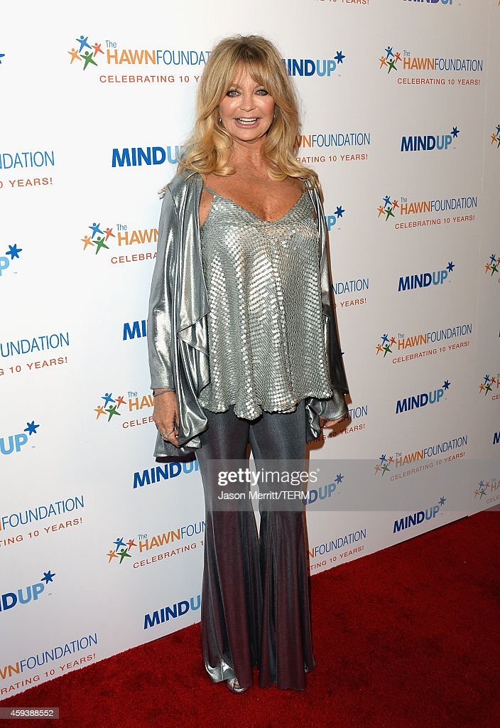 "Goldie Hawn's Inaugural ""Love In For Kids"" Benefiting The Hawn Foundation's MindUp Program Transforming Children's Lives For Greater Success - Red Carpet"