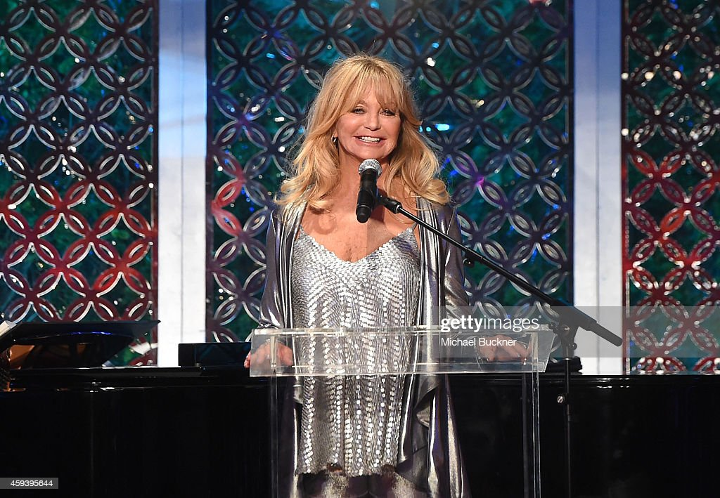 """Goldie Hawn's Inaugural """"Love In For Kids"""" Benefiting The Hawn Foundation's MindUp Program Transforming Children's Lives For Greater Success - Inside"""