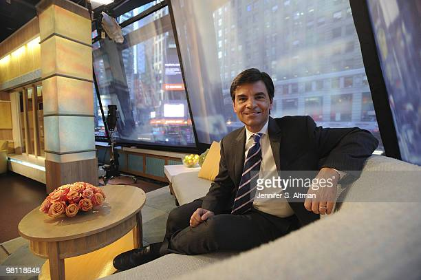 Good Morning America Los Angeles : George stephanopoulos stock photos and pictures getty images