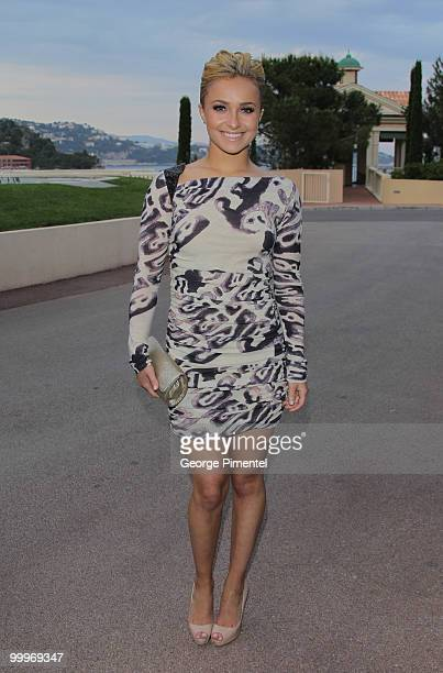 Host Hayden Panettiere attends the World Music Awards 2010 at the Sporting Club on May 18, 2010 in Monte Carlo, Monaco.