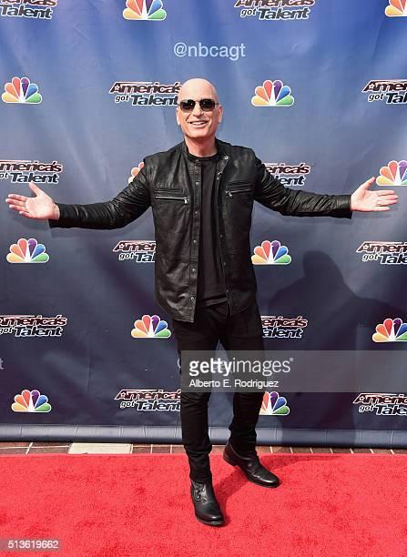 TV host Howie Mandel attends NBC's 'America's Got Talent' Season 11 Kickoff at Pasadena Civic Auditorium on March 3 2016 in Pasadena California