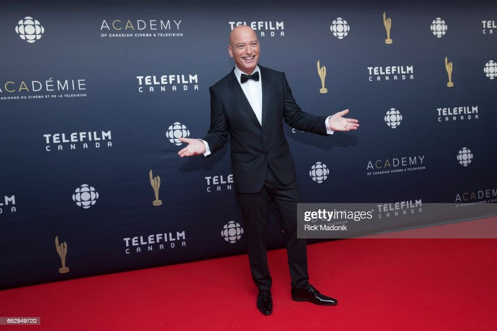 Host Howie Mandel. Canadian Screen Awards red carpet at Sony Centre for the Performing Arts ahead of the show.