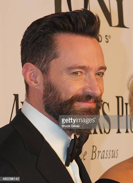 Host Hugh Jackman attends the American Theatre Wing's 68th Annual Tony Awards at Radio City Music Hall on June 8 2014 in New York City