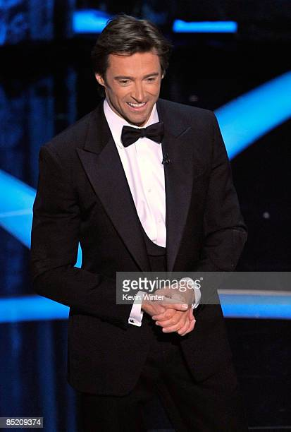 Host Hugh Jackman during the 81st Annual Academy Awards held at Kodak Theatre on February 22, 2009 in Los Angeles, California.