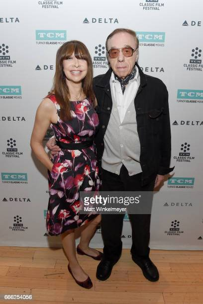 TCM host Illeana Douglas and director Peter Bogdanovich attend the screening of 'The Last Picture Show' during the 2017 TCM Classic Film Festival on...