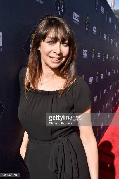 Host Illeana Douglas attends The 50th Anniversary World Premiere Restoration of 'The Producers' Opening Night Gala and Robert Osborne Award at the...