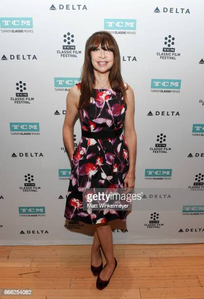 TCM host Illeana Douglas attends the screening of 'The Last Picture Show' during the 2017 TCM Classic Film Festival on April 8 2017 in Los Angeles...