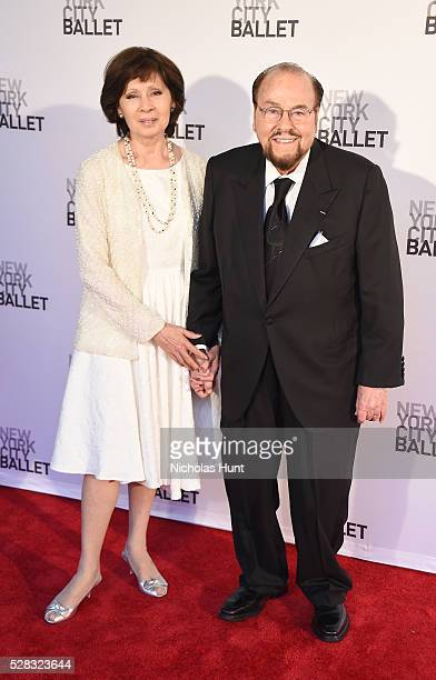 Host Inside the Actors Studio James Lipton and Kedakai Turner attend New York City Ballet's Spring Gala at David H Koch Theater at Lincoln Center on...