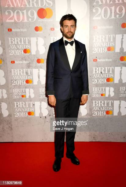 Host Jack Whitehall attends The BRIT Awards 2019 held at The O2 Arena on February 20 2019 in London England