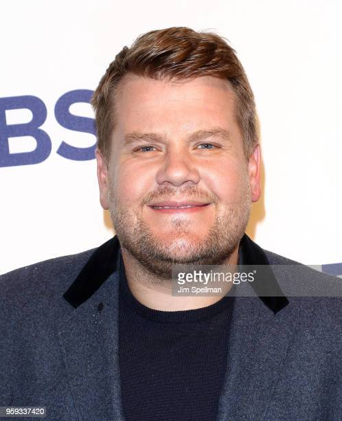 TV host James Corden attends the 2018 CBS Upfront at The Plaza Hotel on May 16 2018 in New York City