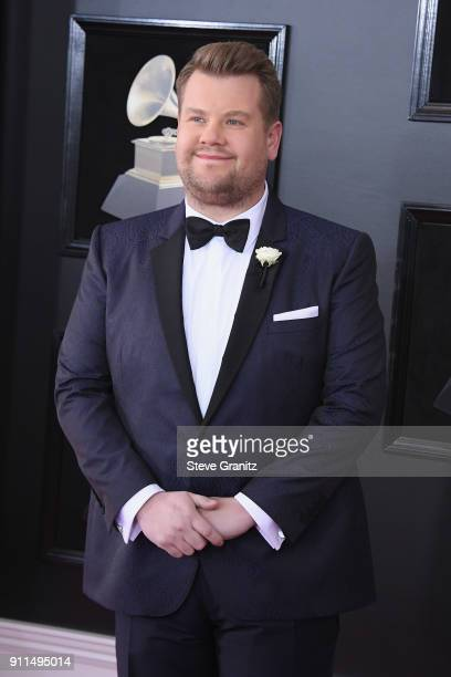 Host James Corden attends the 60th Annual GRAMMY Awards at Madison Square Garden on January 28 2018 in New York City