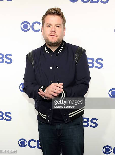 Host James Corden of CBS television series The Late Late Show with James Corden attends the 2016 CBS Upfront at Oak Room on May 18 2016 in New York...