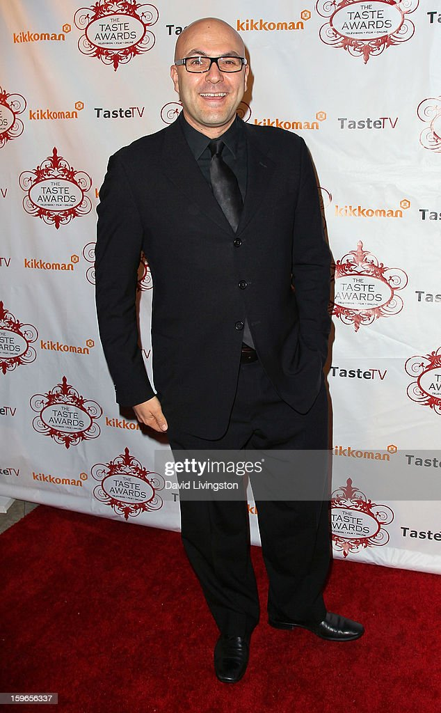 TV host James Cunningham attends the 4th Annual Taste Awards at Vibiana on January 17, 2013 in Los Angeles, California.
