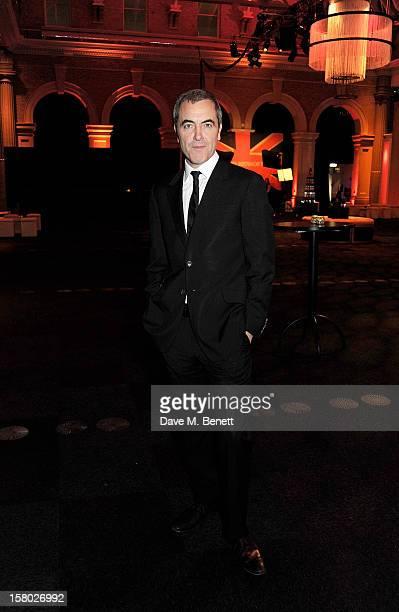Host James Nesbitt attends the Moet British Independent Film Awards at Old Billingsgate Market on December 9 2012 in London England