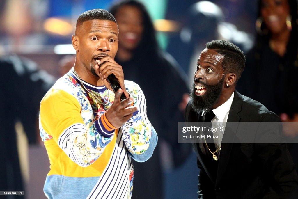 2018 BET Awards - Show : Nachrichtenfoto